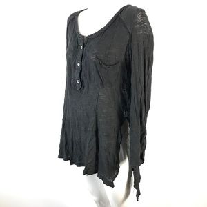 We the free tunic top distressed